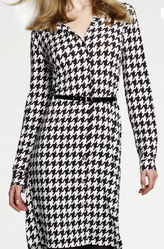 Houndstooth Dress Ms Brittany Bass
