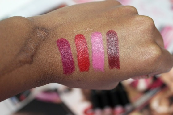 Wet n Wild Lipstick Swatches